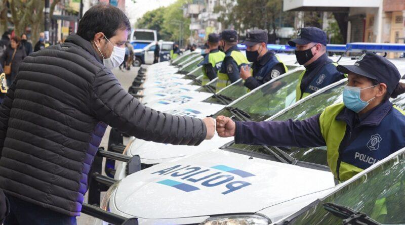 San Martín: 15 nuevos patrulleros y 300 chalecos antibalas