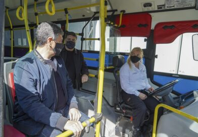 El Transporte del Bicentenario retoma su servicio con protocolos COVID